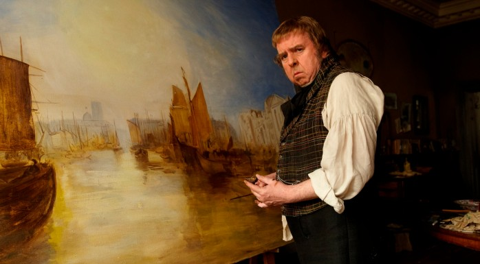 Timothy Spall plays JMW Turner. Photograph courtesy www.deadline.com