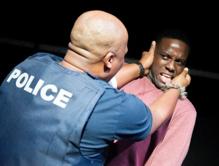 'I See You' Play by Mongiwekhaya performed at the Royal Court Theatre Upstairs, London, UK